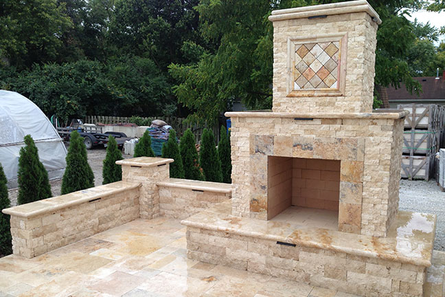 Tuscany Patio and Fireplace