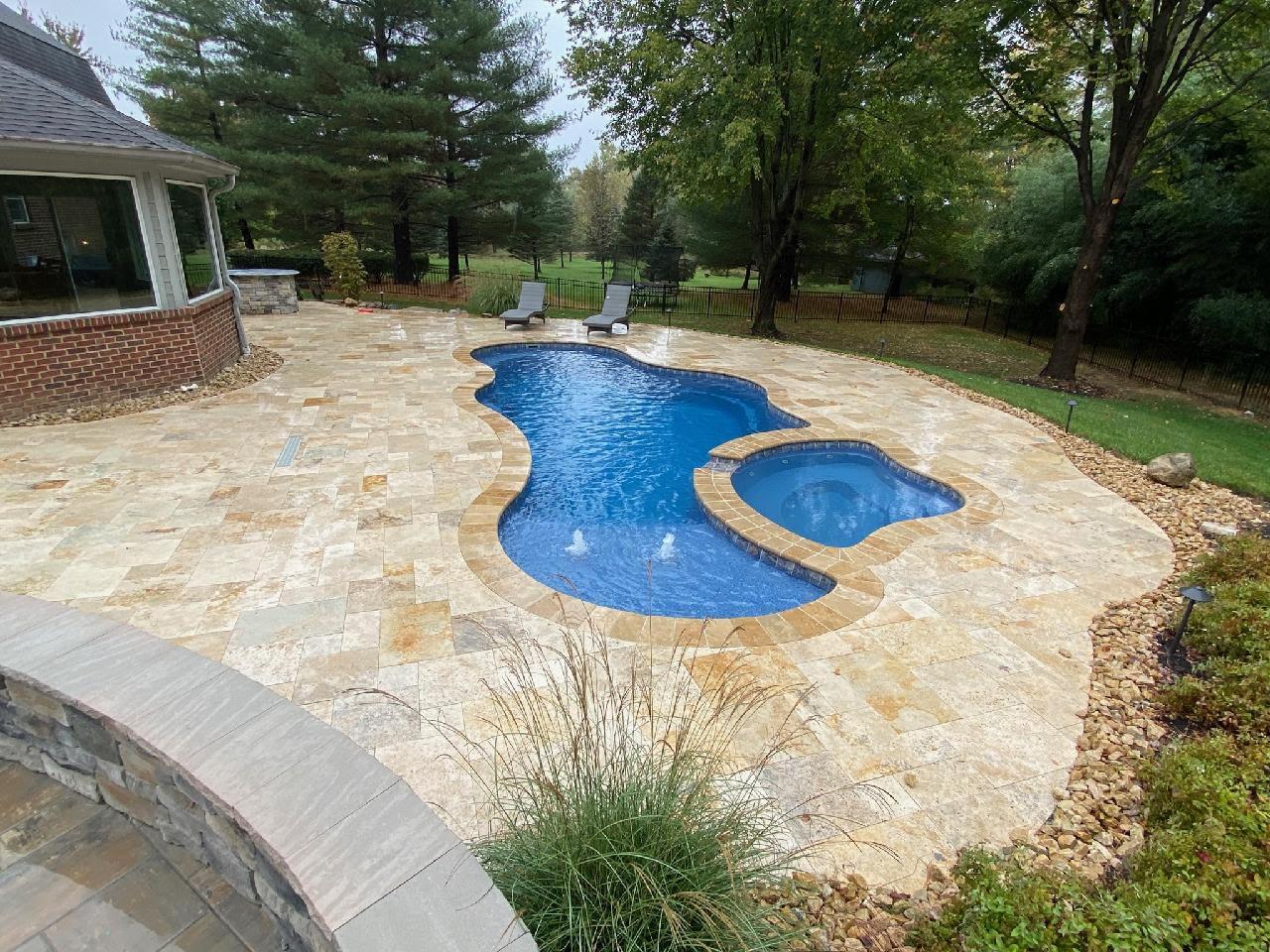 Tuscany Pool Deck