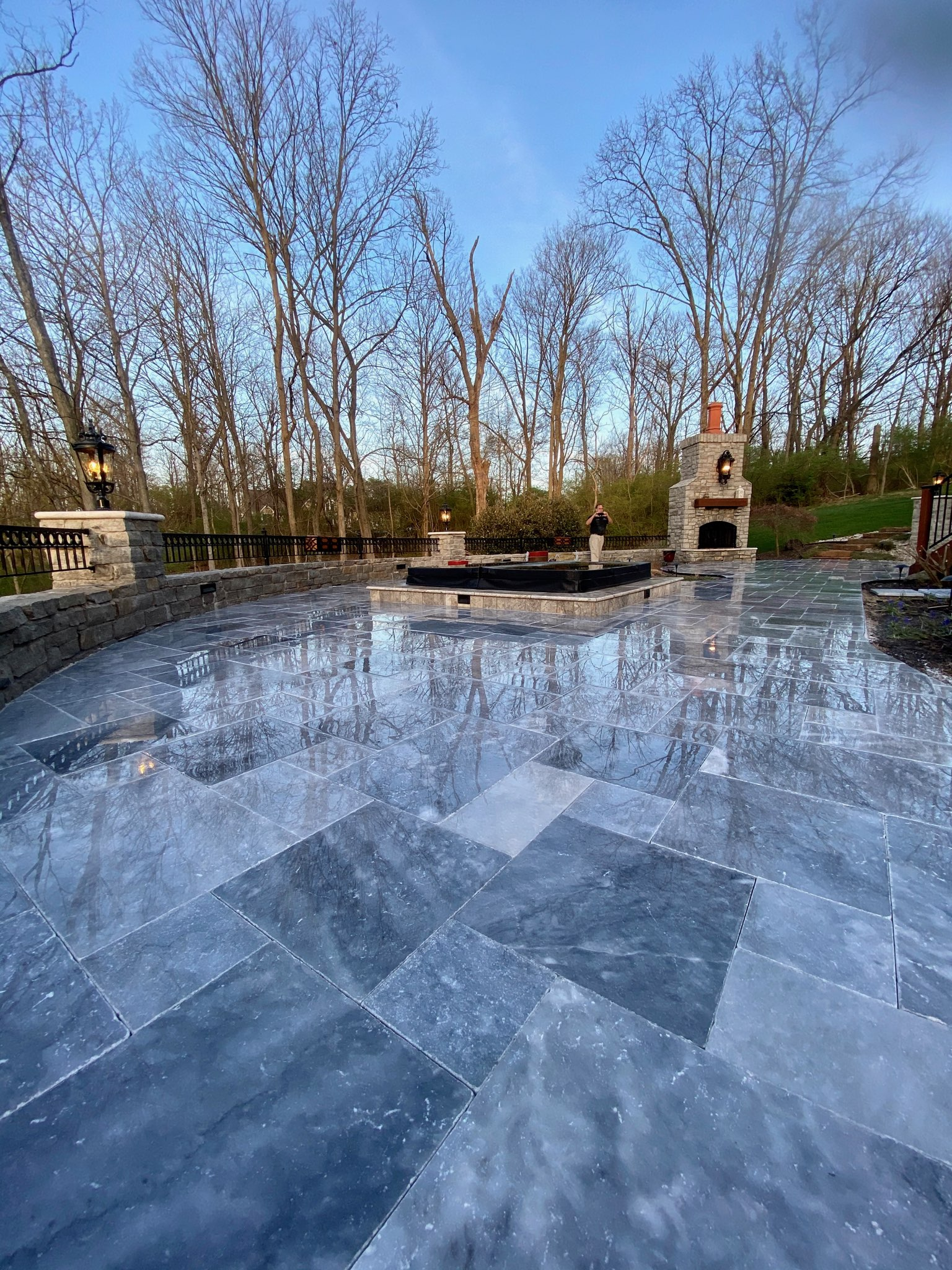Blue Marble Patio